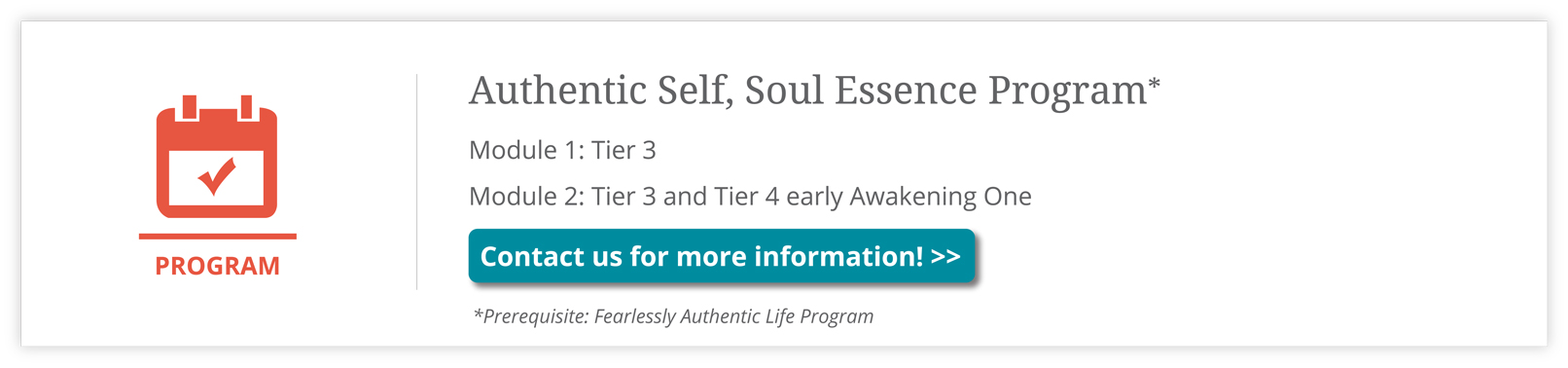 Authentic-Self-Soul-Essence-Program
